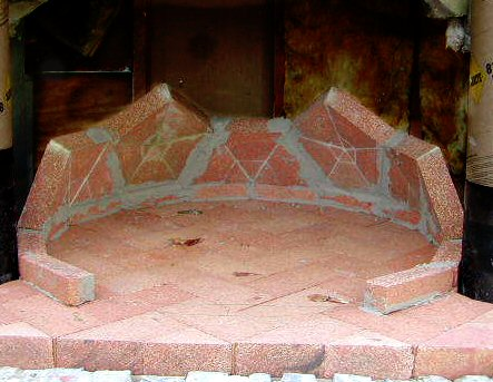 geodesic pizza oven
