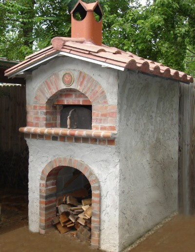 Backyard Bake Oven by Gene Padgitt