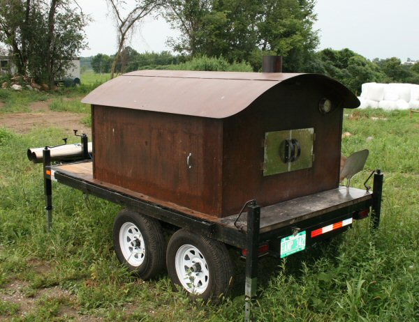 Mobile oven by William Davenport