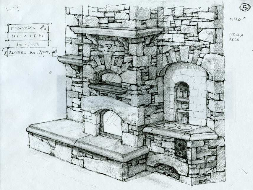 Masonry heater design by John Fisher