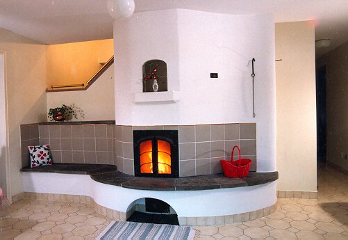 Heat Kit masonry heater by Norbert Senf