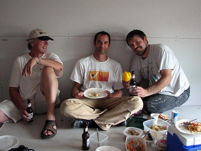 John, Alex & Norbert