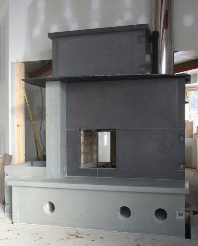 concrete panel heater by William Davenport
